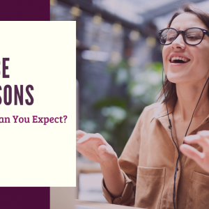What Can You Expect from Voice Lessons?